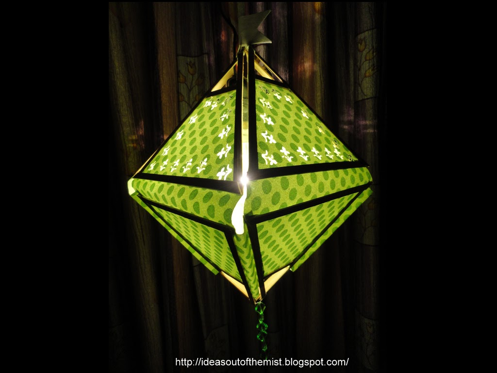 Ideas out of the mist tutorial diwali xmas folding for Paper lantern tutorial