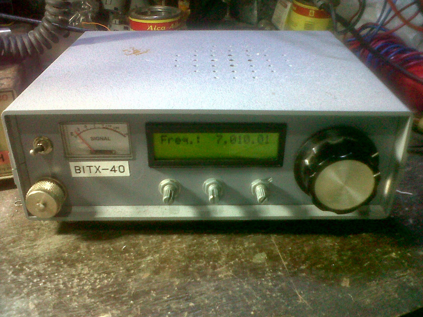BITX 40 M band SSB Transceiver