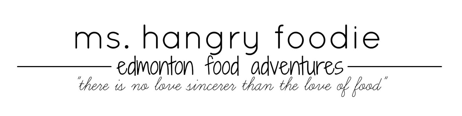 ms. hangry foodie