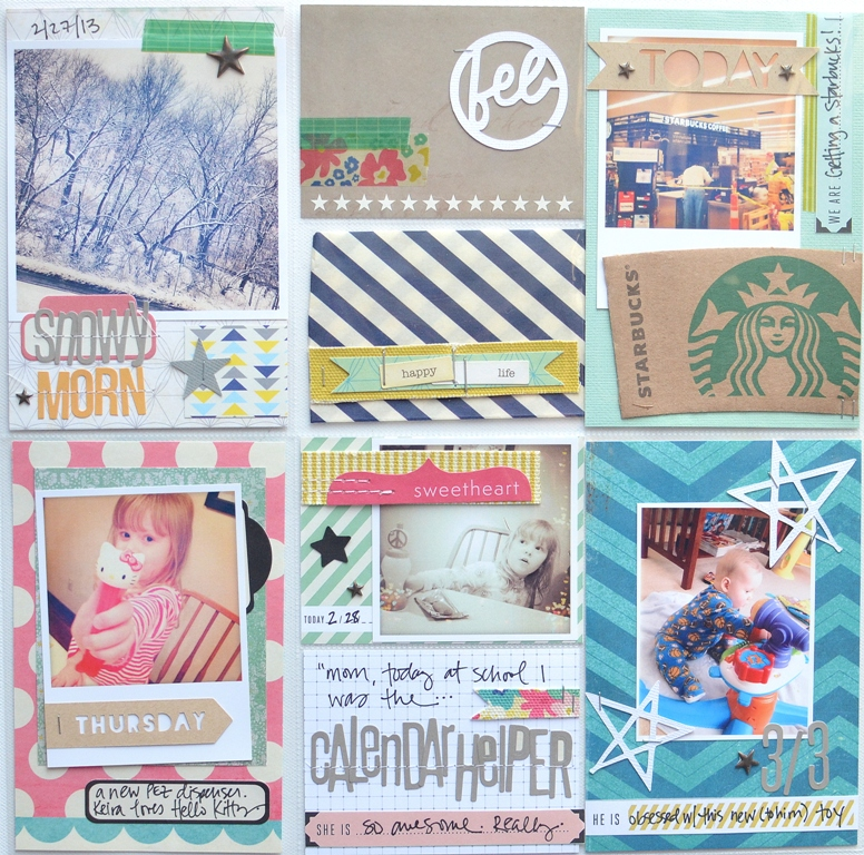 Jen Chapin Blog Project Life With Scrapbook Circle