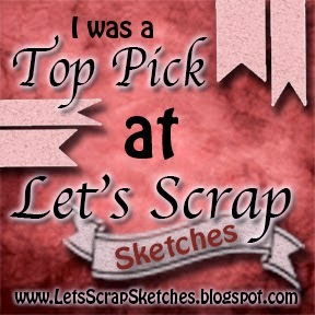 LET'S SCRAP SKETCHES TOP PICK