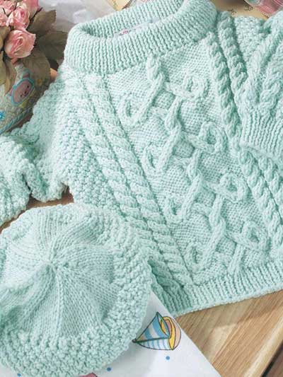 Knitting Baby Outfit Patterns : Free knitting pattern boys baby clothes models
