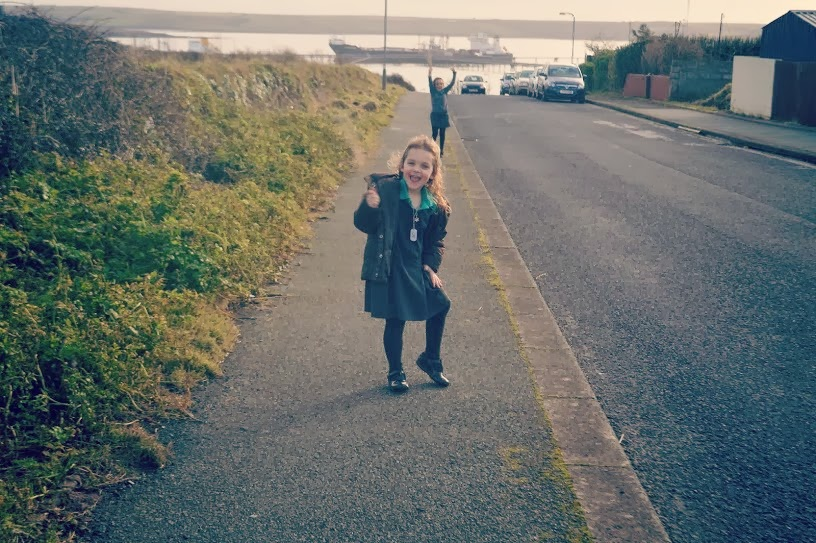 School run walk dance gelliswick hakin pembrokeshire