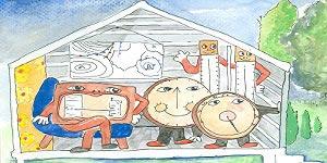 La familia Meteo (meteorología para niños)