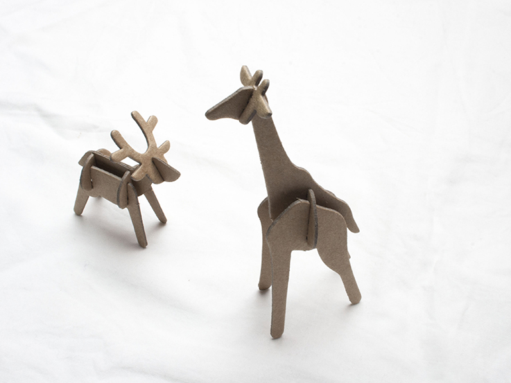 paper animals by muji