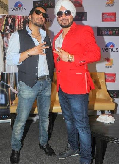 Mika Singh launches Dilbagh Singh's album 'iamsinghdilbagh'