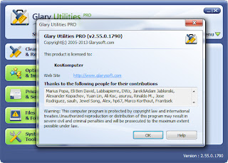 Glary Utilities Pro 2.55.0.1790 Full Version