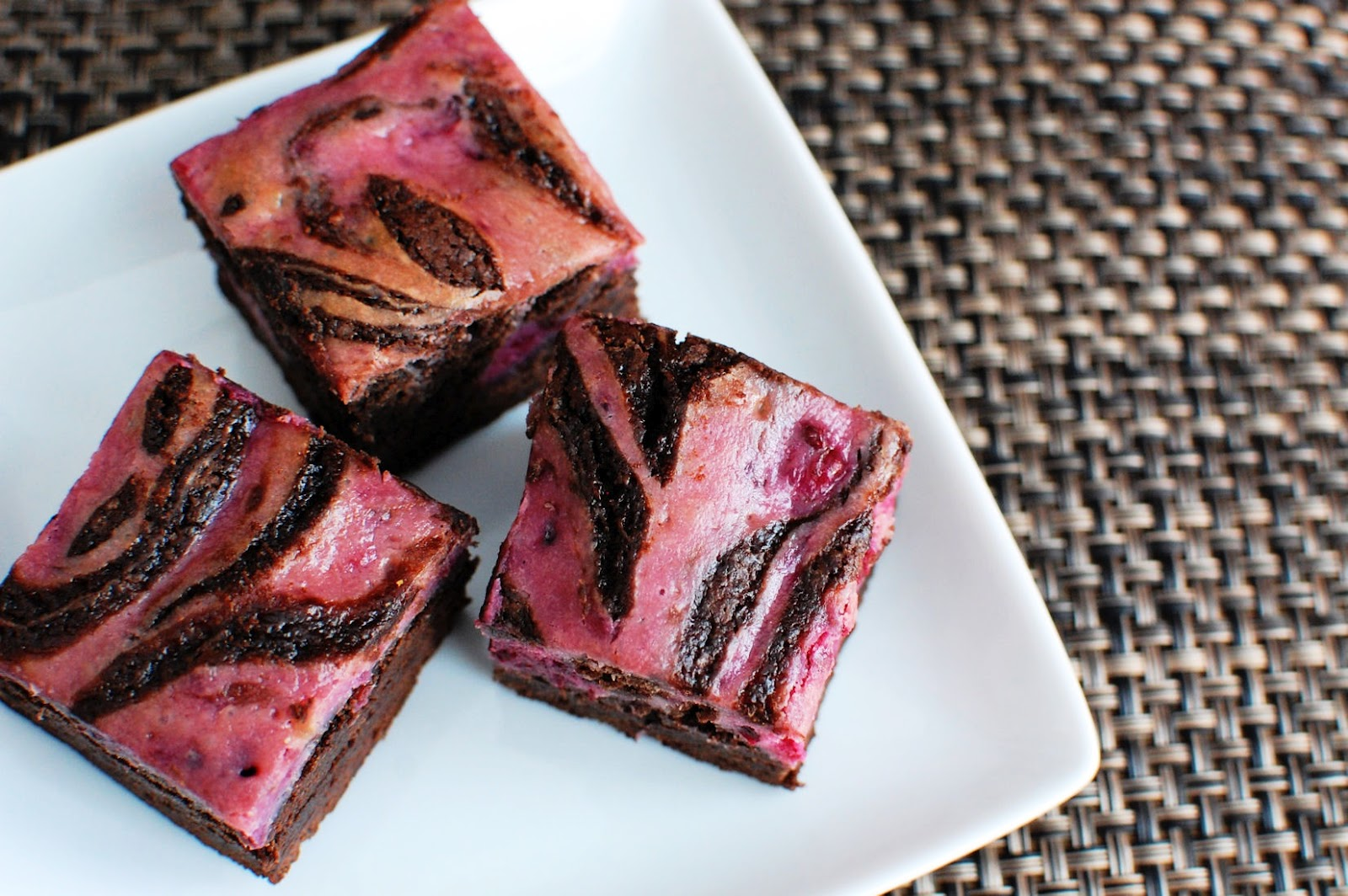 Blackberry Cheesecake Swirled Brownies | Beantown Baker