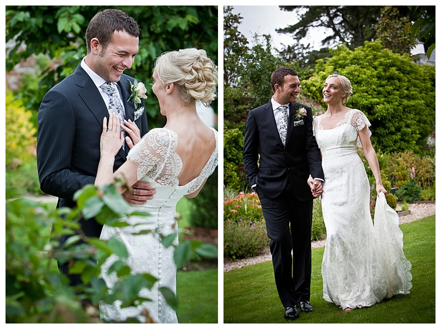 lilacs and pearls wedding dress