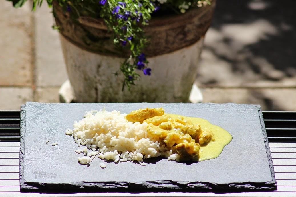 Keltainen kanacurry