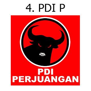 Jual Bendera Partai PDI P