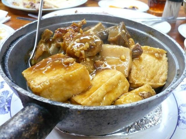 Hills BBQ Noodle Shop, Box Hill, tofu claypot