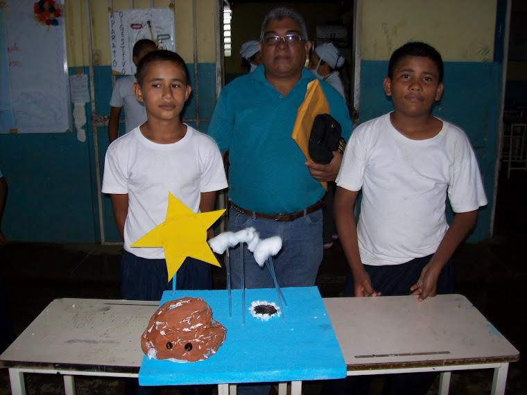 Futuros científicos venezolanos...