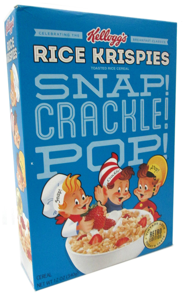 why do rice krispies snap crackle pop