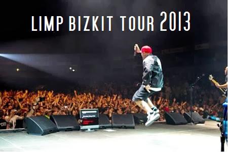 LIMP BIZKIT TOUR 2013