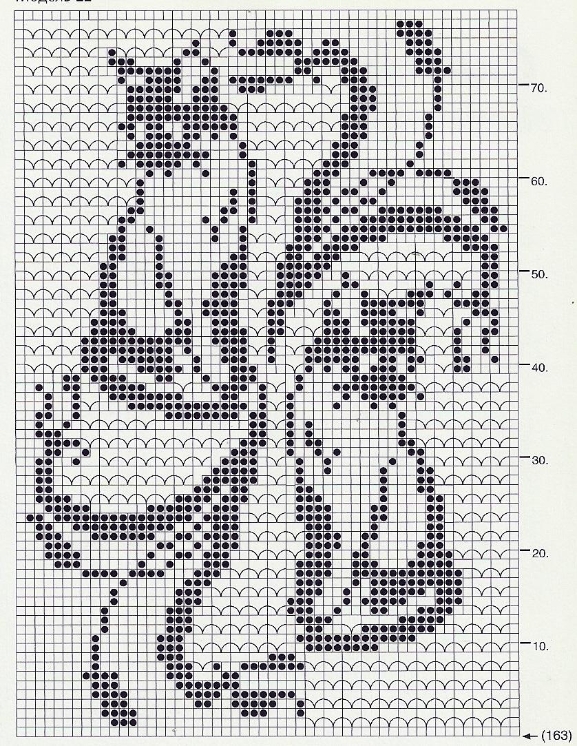 346Мои салфетки со схемами вязание крючком