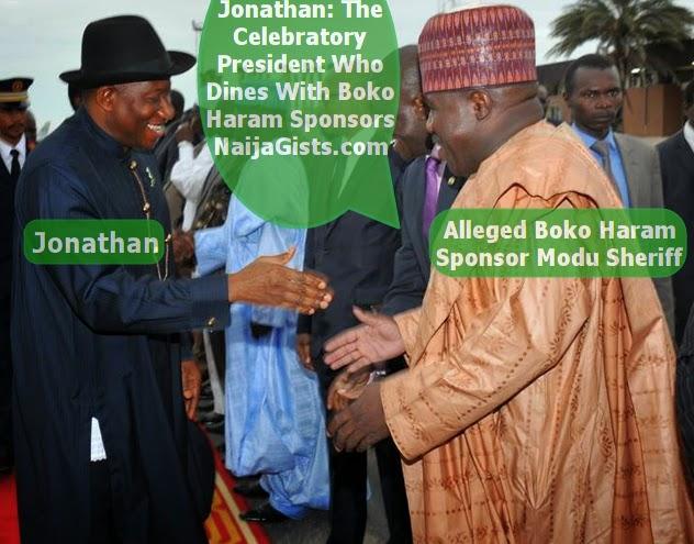 jonathan boko haram sponsors