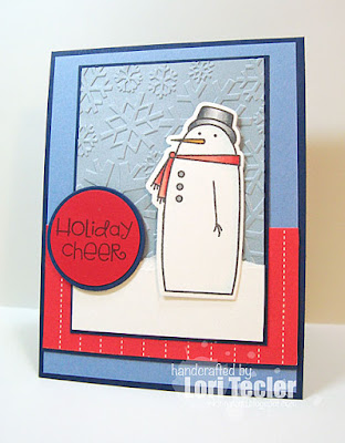 Holiday Cheer card-designed by Lori Tecler/Inking Aloud-stamps and dies from Paper Smooches