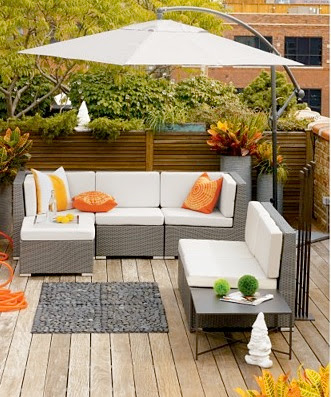 Avant garde modern furniture blog ikea part 8 outdoor patio and garden for Deco terras design