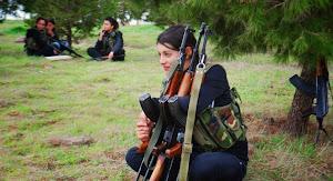 ΑΛΛΗΛΕΓΓΥΗ ΣΤΟΝ ΜΑΧΟΜΕΝΟ ΚΟΥΡΔΙΚΟ ΛΑΟ ΠΟΥ ΑΓΩΝΙΖΕΤΑΙ  ΕΝΑΝΤΙΑ ΣΤΟΥΣ ΙΣΛΑΜΟΦΑΣΙΣΤΕΣ ΤΟΥ ISIS