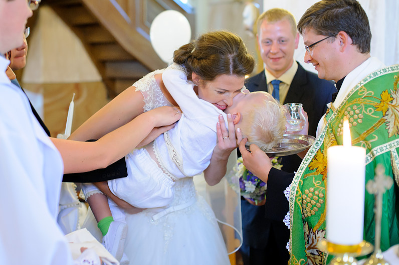 Krikštynų ir vestuvių ceremonija