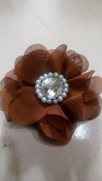 BROS FLOWER SATIN (handmade)