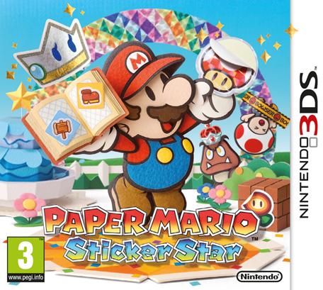 N3DS Paper Mario : Sticker Star Spa,Eng,Fre,Ita,Ger EUR