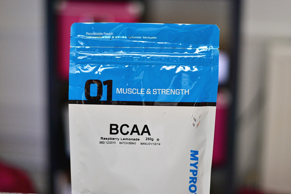MyProtein BCAA Raspberry Lemonade