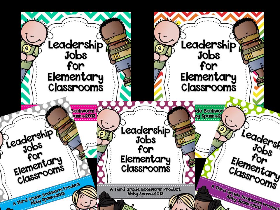 http://www.teacherspayteachers.com/Product/Leadership-Jobs-for-Elementary-Classrooms-Gray-Dots-834466