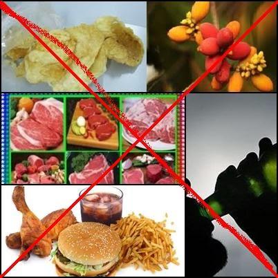 Pantangan makanan penderita rematik ~ Pantangan dan ...