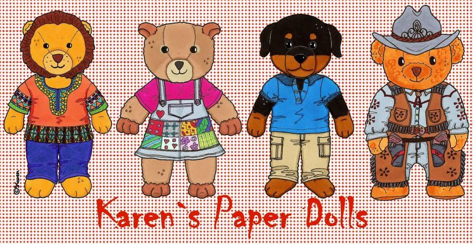 Karen`s Paper Dolls