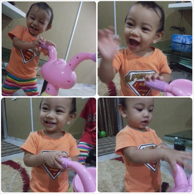 Faris Zakwan 11 months..