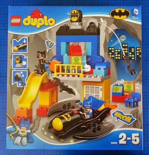 The LEGO DUPLO Batcave Adventure set age 2+