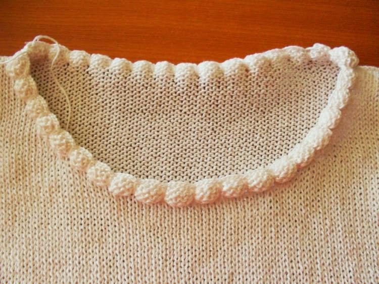 Вязание как обработать горловину