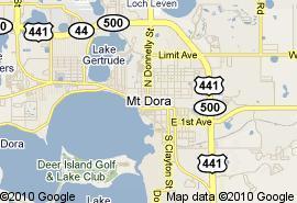 Mount Dora Florida Map.Done Deals Dec 27 2011