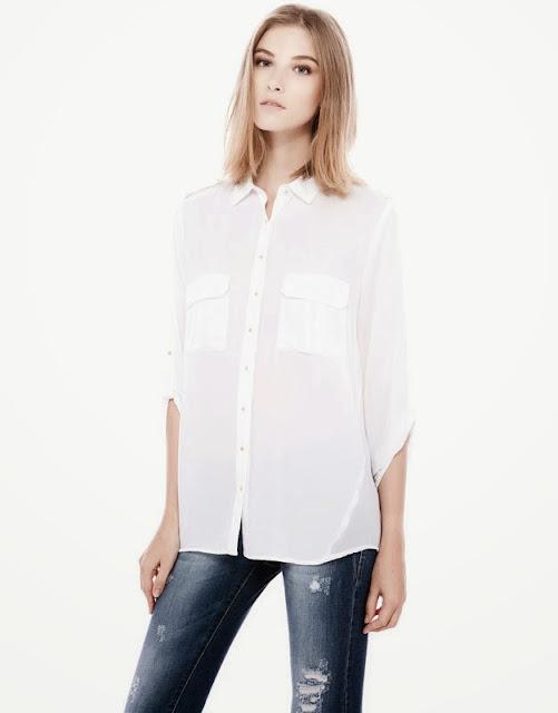 Pull And Bear 2014 Gömlek Modelleri, pull and bear, kareli gömlek, kot gömlek, mavi gömlek, siyah gömlek, salaş gömlek, kısa gömlek