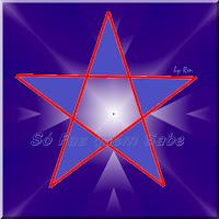 Polígono estrelado de cinco pontas, a estrela de cinco pontas