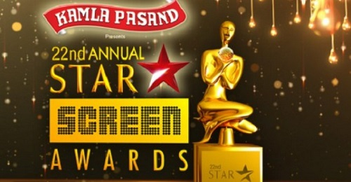 Poster Of 22nd Annual Star Screen Awards 24th January 2016 Main Event 450MB Web-DL Free Download
