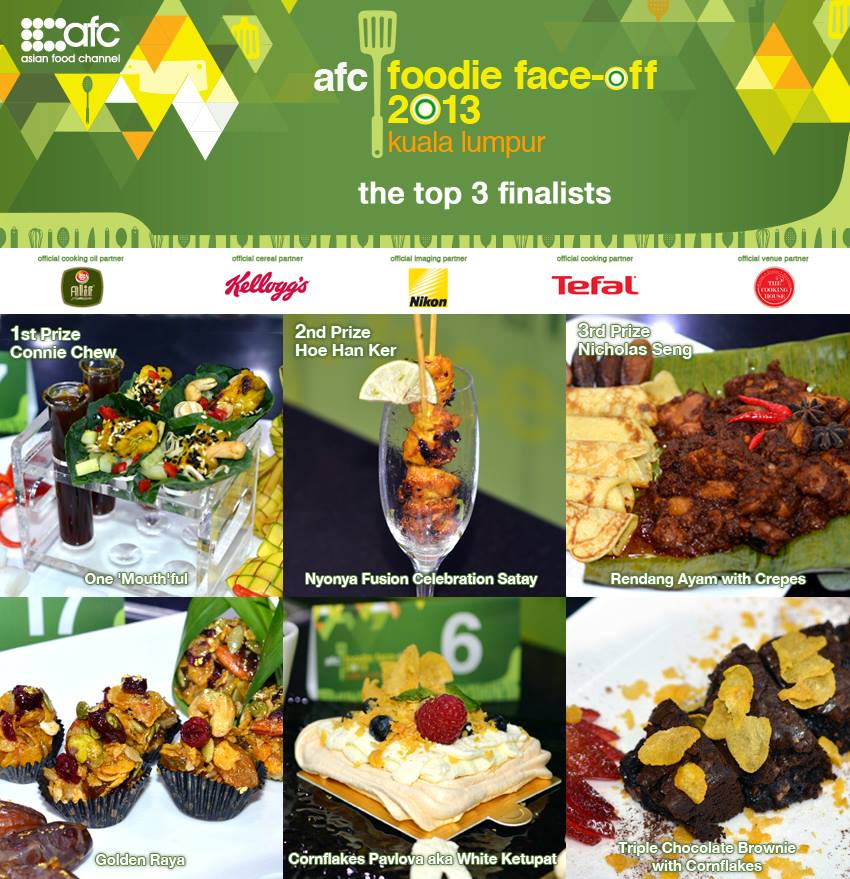 Everyday food i love the afc announces the winners of the 1st ever ms connie chew who created an innovative dish named one mouthful was crowned the winner of the competition and took home a grand prize worth over rm forumfinder Image collections