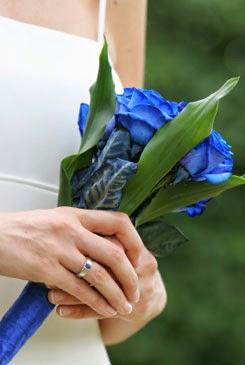 Blue rose bouquet for Blue long stem roses