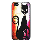 Popular seller: Retro Diva Cat iPhone 5 Case