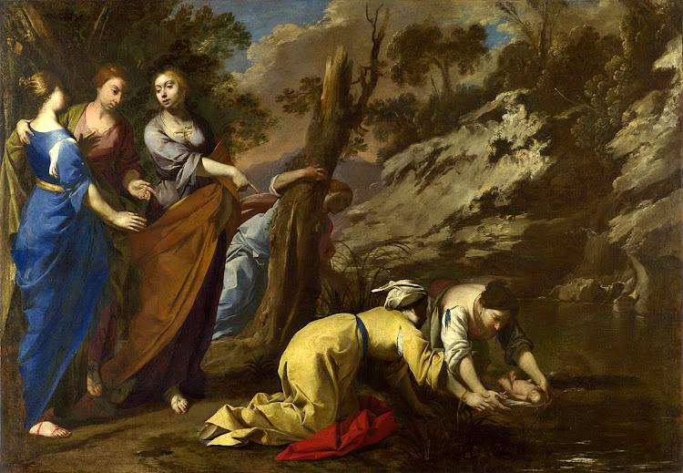 Antonio De Bellis - The Finding of Moses