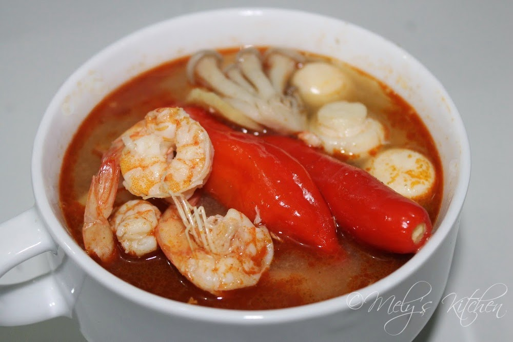 Tom Yum Goong - Mely's kitchen