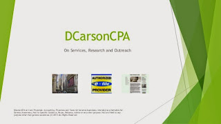 DCarsonCPA on the Economy
