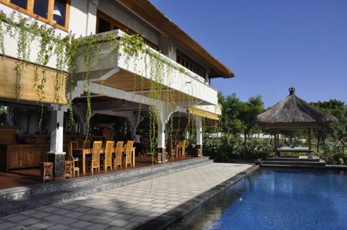 Santi Sari Boutique Hotel Goris Bali Pool