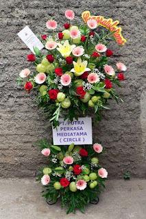 bunga standing flower congratulation