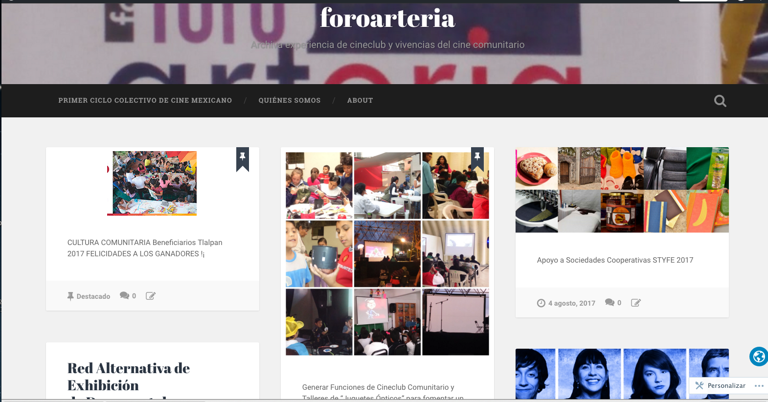 foro arteria Wordpress
