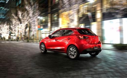 2016 Mazda2 rear