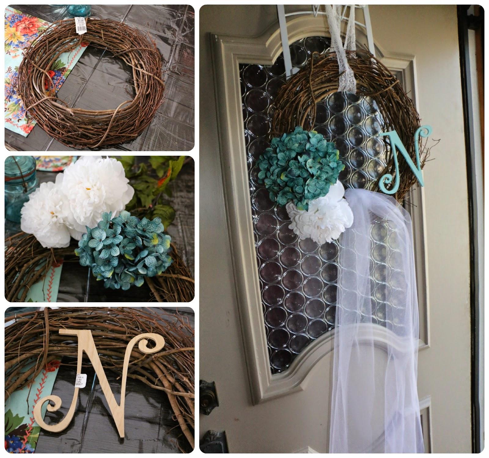 Diy Wedding Wreaths: The 26th Of August: Wedding Veil Wreath DIY For Bridal Shower