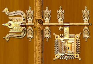 door (The Ornate Lock) is an age old traditional lock of Kerala